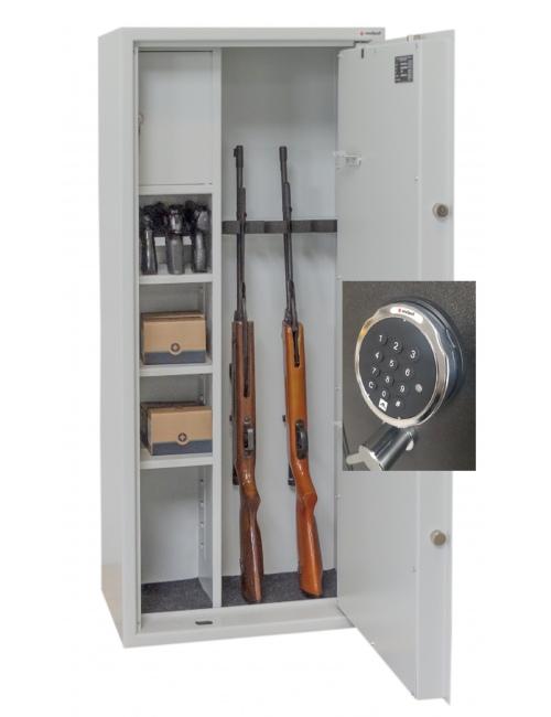 Szafa na broń GG 31 OPTIC Z PRZEGRODĄ MULTI PRAKTIKER +